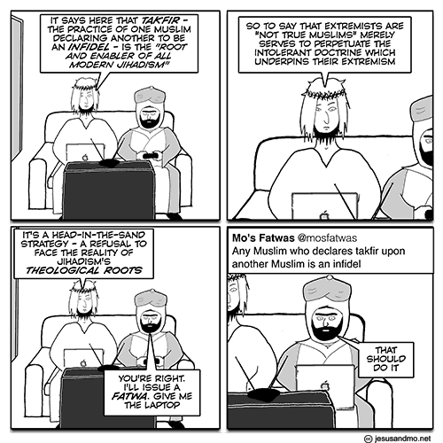 Jesus and Mo - Takfir